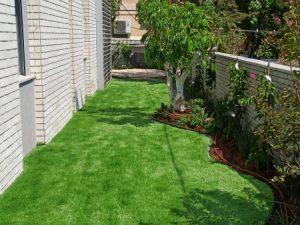 תכנון גינה עם דשא סינטטי